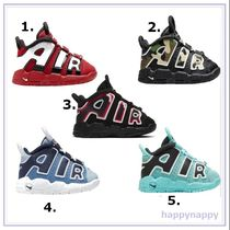 Nike AIR MORE UPTEMPO Street Style Baby Girl Shoes
