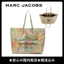 MARC JACOBS THE MARC JACOBS Casual Style Unisex Collaboration A4 Totes