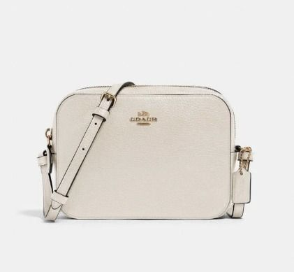 Coach Shoulder Bags Monogram Casual Style Canvas Leather Elegant Style Crossbody 9