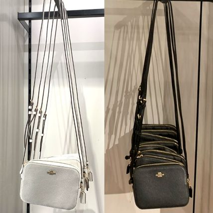 Coach Shoulder Bags Monogram Casual Style Canvas Leather Elegant Style Crossbody 17