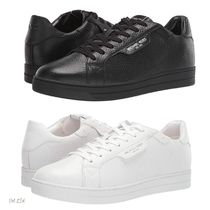 Michael Kors Street Style Plain Leather Sneakers