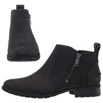 UGG Australia Round Toe Casual Style Plain Leather Ankle & Booties Boots