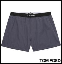 TOM FORD Plain Cotton Logo Trunks & Boxers