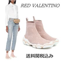 RED VALENTINO Platform Casual Style Plain Platform & Wedge Sneakers