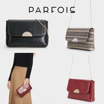 PARFOIS 2WAY Chain Party Style Elegant Style Crossbody Party Bags
