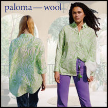 Paloma Wool Casual Style Street Style Long Sleeves Oversized