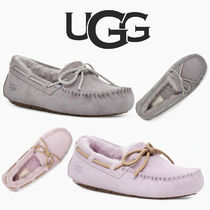 UGG Australia DAKOTA Casual Style Suede Leather Office Style Slip-On Shoes