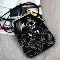 Moomin Casual Style Unisex Canvas Logo Shoulder Bags