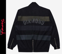 Diamond Supply Co Wool Street Style Logo Varsity Jackets