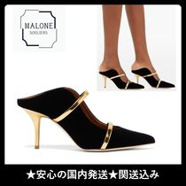 Malone Souliers Plain Party Style Elegant Style Heeled Sandals