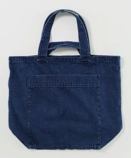 Casual Style Denim A4 2WAY Plain Totes