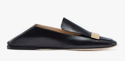 Plain Leather Flats
