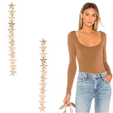 Costume Jewelry Star Casual Style Party Style Earrings