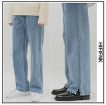 HI FI FNK Unisex Denim Plain Cotton Jeans & Denim