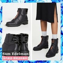 Sam Edelman Round Toe Rubber Sole Casual Style Ankle & Booties Boots