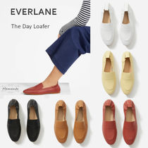 Everlane Casual Style Plain Leather Loafer & Moccasin Shoes
