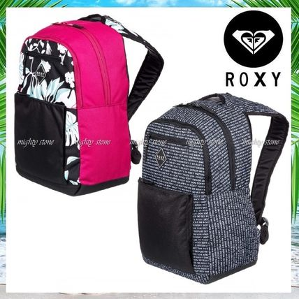 Flower Patterns Tropical Patterns Casual Style A4 Backpacks