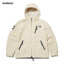 THE NORTH FACE RIMO Unisex Street Style Shearling Logo Fleece Jackets Jackets