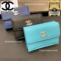 CHANEL Folding Wallets