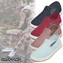 allbirds Loungers Street Style Plain Sneakers