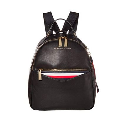 Casual Style Street Style Plain Logo Backpacks