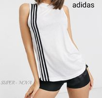 adidas Crew Neck Street Style Medium Logo Tanks & Camisoles
