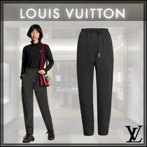 Louis Vuitton Monogram Casual Style Cotton Long Culottes & Gaucho Pants