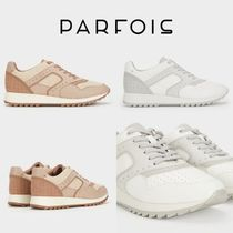 PARFOIS Rubber Sole Casual Style Low-Top Sneakers