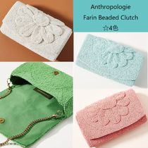 Anthropologie Flower Patterns Casual Style 2WAY Party Style Clutches