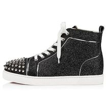 Christian Louboutin Casual Style Leather Logo Low-Top Sneakers