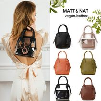 MATT&NAT Faux Fur 2WAY Elegant Style Shoulder Bags