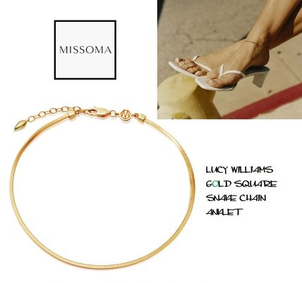 Costume Jewelry Casual Style Unisex Street Style 18K Gold
