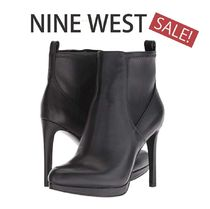 Nine West Casual Style Plain Elegant Style Ankle & Booties Boots