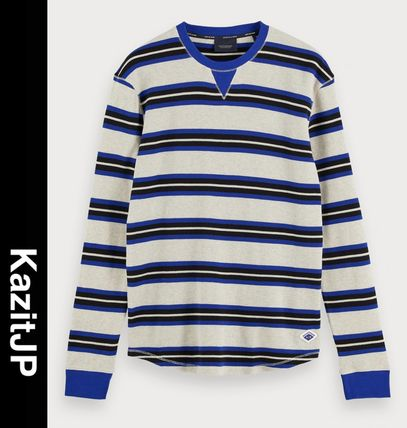 Stripes Long Sleeves Long Sleeve T-shirt Surf Style