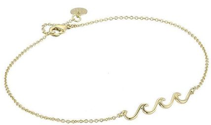 Ron Herman Unisex Street Style Handmade Silver Anklets