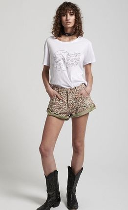 Crew Neck Cotton Short Sleeves T-Shirts