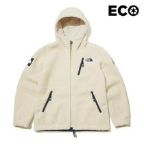 THE NORTH FACE WHITE LABEL Unisex Street Style Medium Shearling Logo Jackets