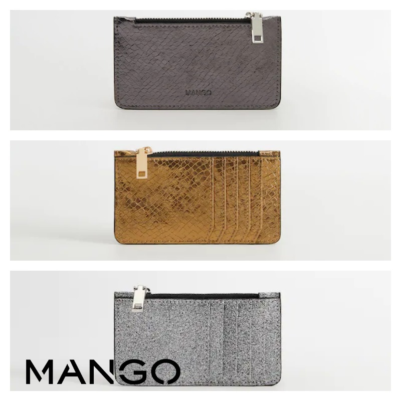 shop mango wallets & card holders