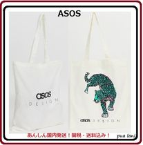ASOS Leopard Patterns Casual Style Unisex Canvas Street Style