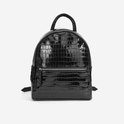 Faux Fur Other Animal Patterns Backpacks