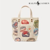POLO RALPH LAUREN Casual Style Canvas Totes