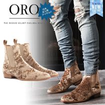 ORO LOS ANGELES Street Style Chelsea Boots Chelsea Boots