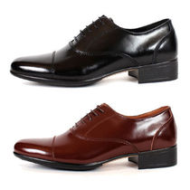 mooda Straight Tip Loafers Plain Leather Loafers & Slip-ons