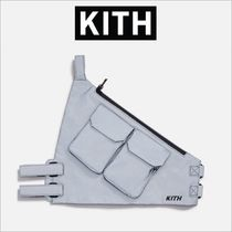 KITH NYC Casual Style Unisex Blended Fabrics Street Style Plain Bags
