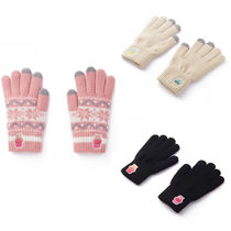 A PIECE OF CAKE Unisex Street Style Plain Smartphone Use Gloves