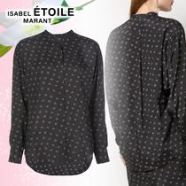 Isabel Marant Casual Style Long Sleeves Cotton Medium Shirts & Blouses