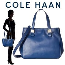 Cole Haan Casual Style Faux Fur A4 2WAY Plain Office Style Handbags