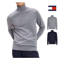 Tommy Hilfiger Pullovers Street Style Long Sleeves Cotton Sweaters