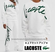 LACOSTE Blended Fabrics Street Style Top-bottom sets