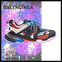 BALENCIAGA Rubber Sole Casual Style Street Style Low-Top Sneakers